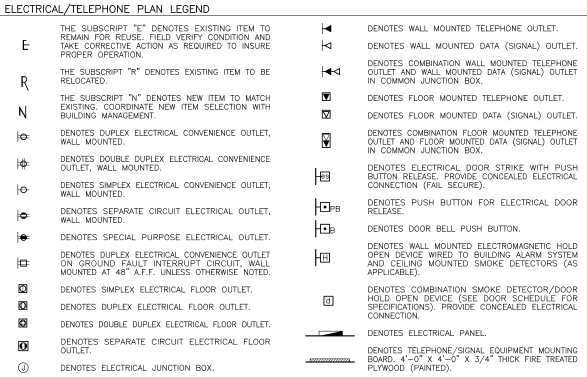 Qblockspro qblockspro idetails graphic reference - General notes for interior design drawings ...
