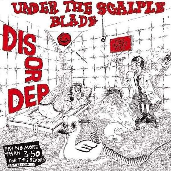 DISORDER - Under the Scalpel Blade - LP