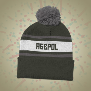 A Great Big Pile Of Leaves - AGBPOL Knit Hat