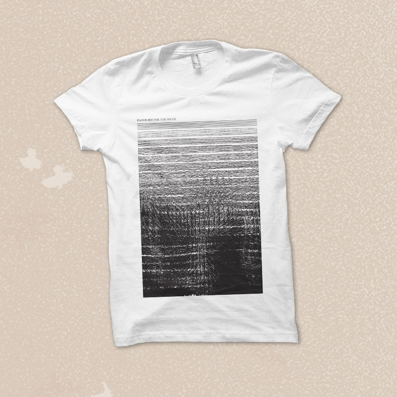 Topshelf Records - Pianos Become The Teeth - Sheet Music T-Shirt