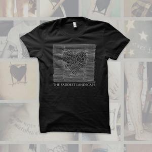 The Saddest Landscape - Unknown Pleasures T-Shirt