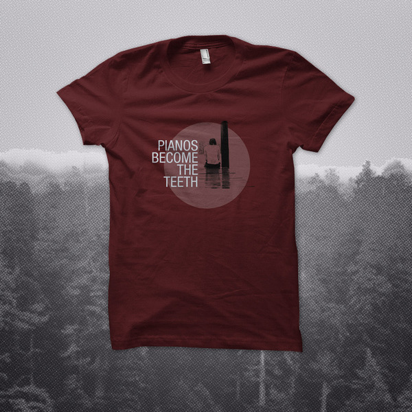 Topshelf Records Pianos Become The Teeth Dock T Shirt