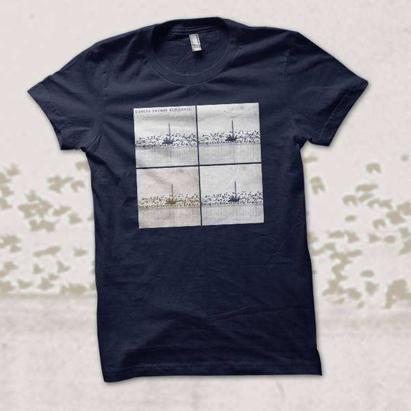 Topshelf Records Pianos Become The Teeth Boat Shirt