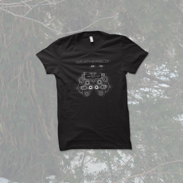 Topshelf Records Weatherbox Photopter T Shirt