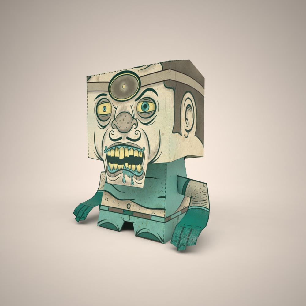 Custom Artist Record Toppers (Monster Doctor)