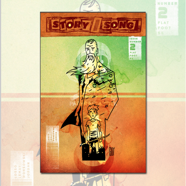 Story/Song - Flatfoot 56 (Webcomic & Physical)