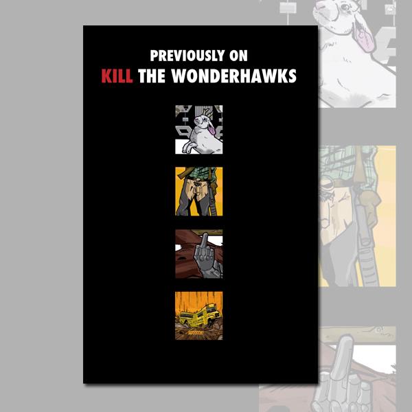Kill The Wonderhawks - Episode 2 (Webcomic)