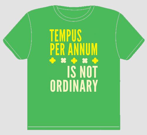 Tempus Per Annum t-shirt