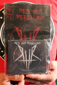 RED HOT REBELLION CD - $10