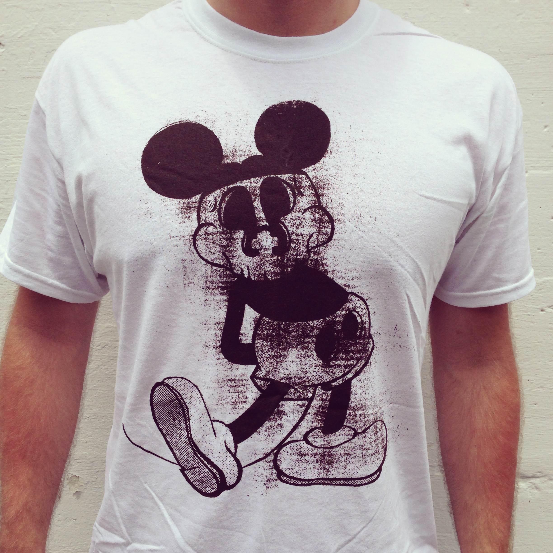 P+P Mouse Head T-Shirt