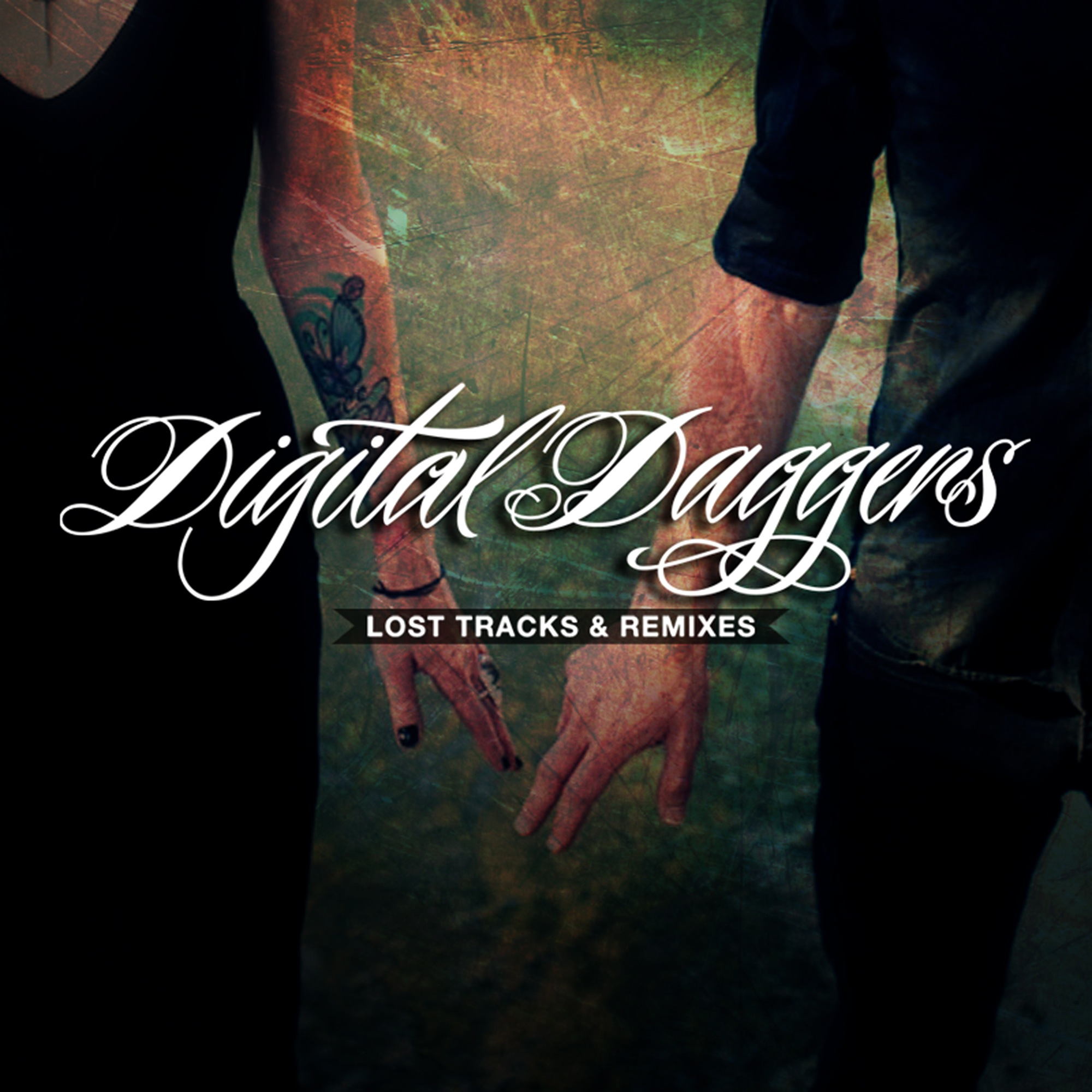 Digital Daggers Logo Digital Daggers Lost Tracks