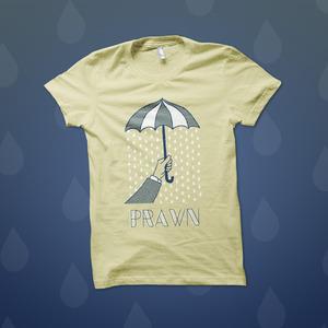 Prawn - Umbrella T-Shirt