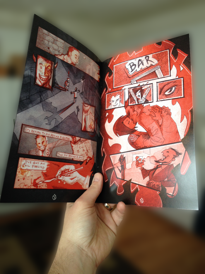 Red Hot Rebellion Comic Issue #1