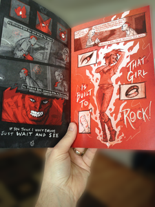 Red Hot Rebellion Comic Issue #1 - $1