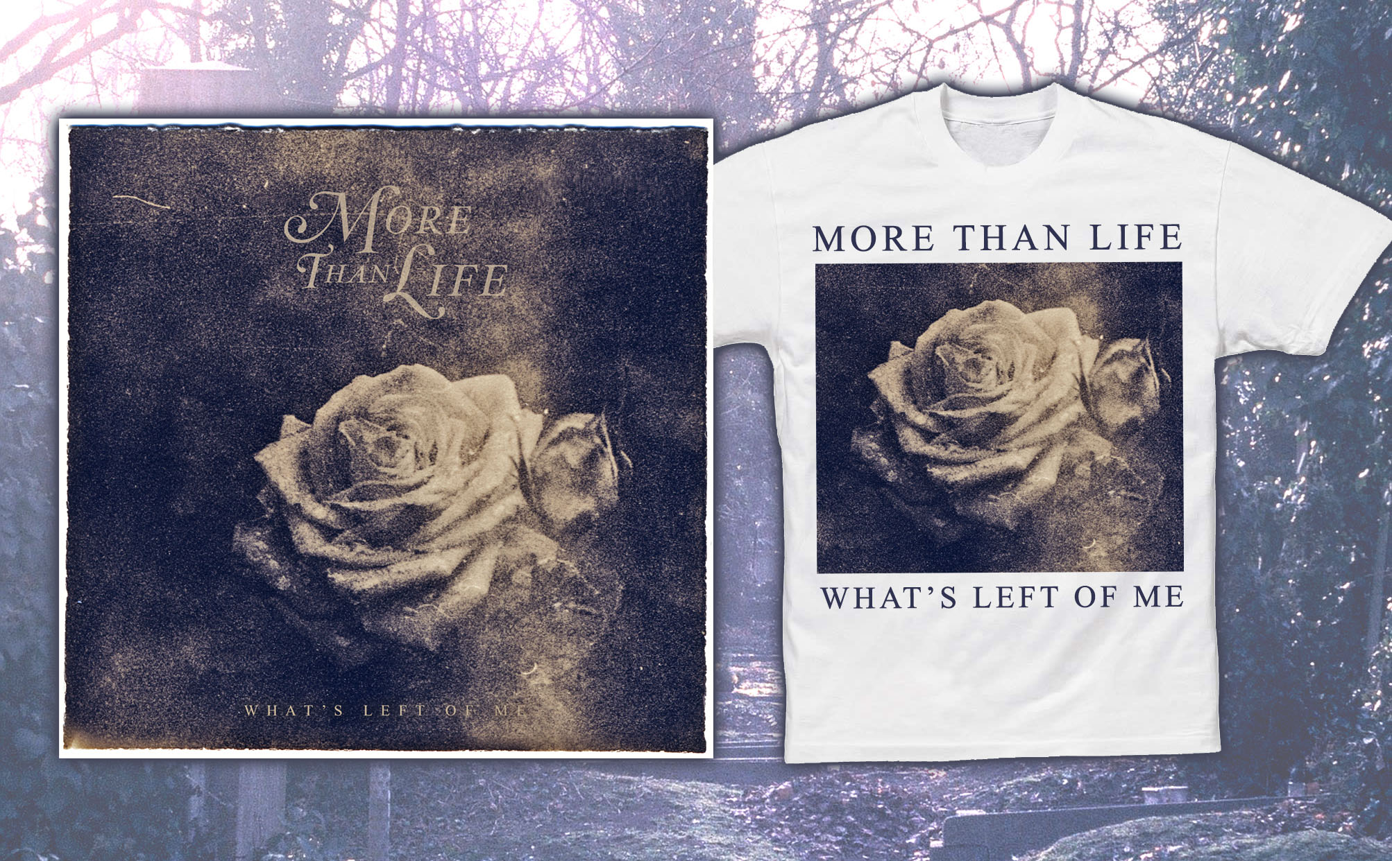 More Than Life 'What's Left Of Me' CD + T-Shirt
