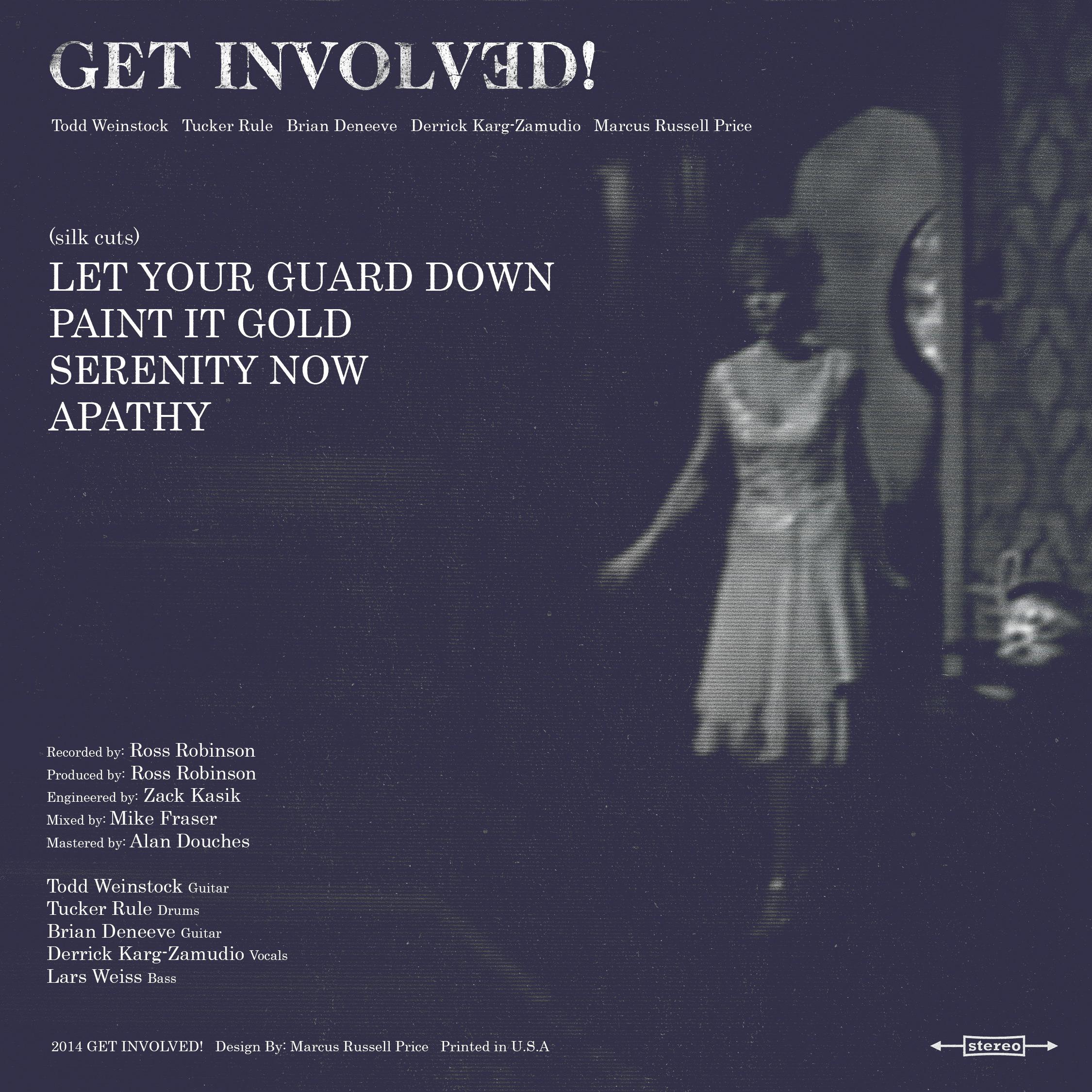 "Get Involved: Get Involved ""(silk Cuts)"" CD"