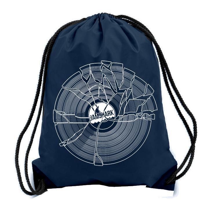 Broken Drawstring Bag Navy