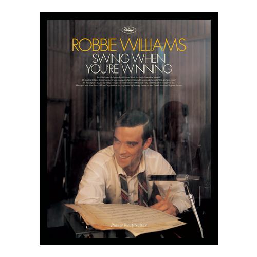 Swing When You're Winning Sheet Music Songbook (Piano Vocal Guitar)