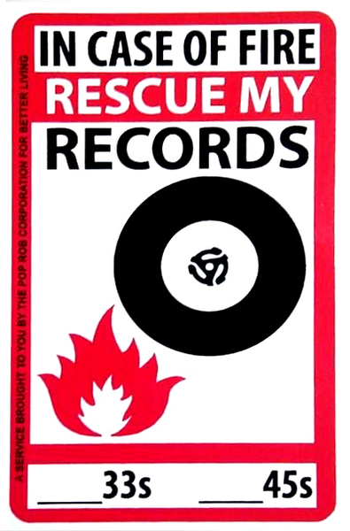 Rebel Sound Music In Case Of Fire Rescue My Records