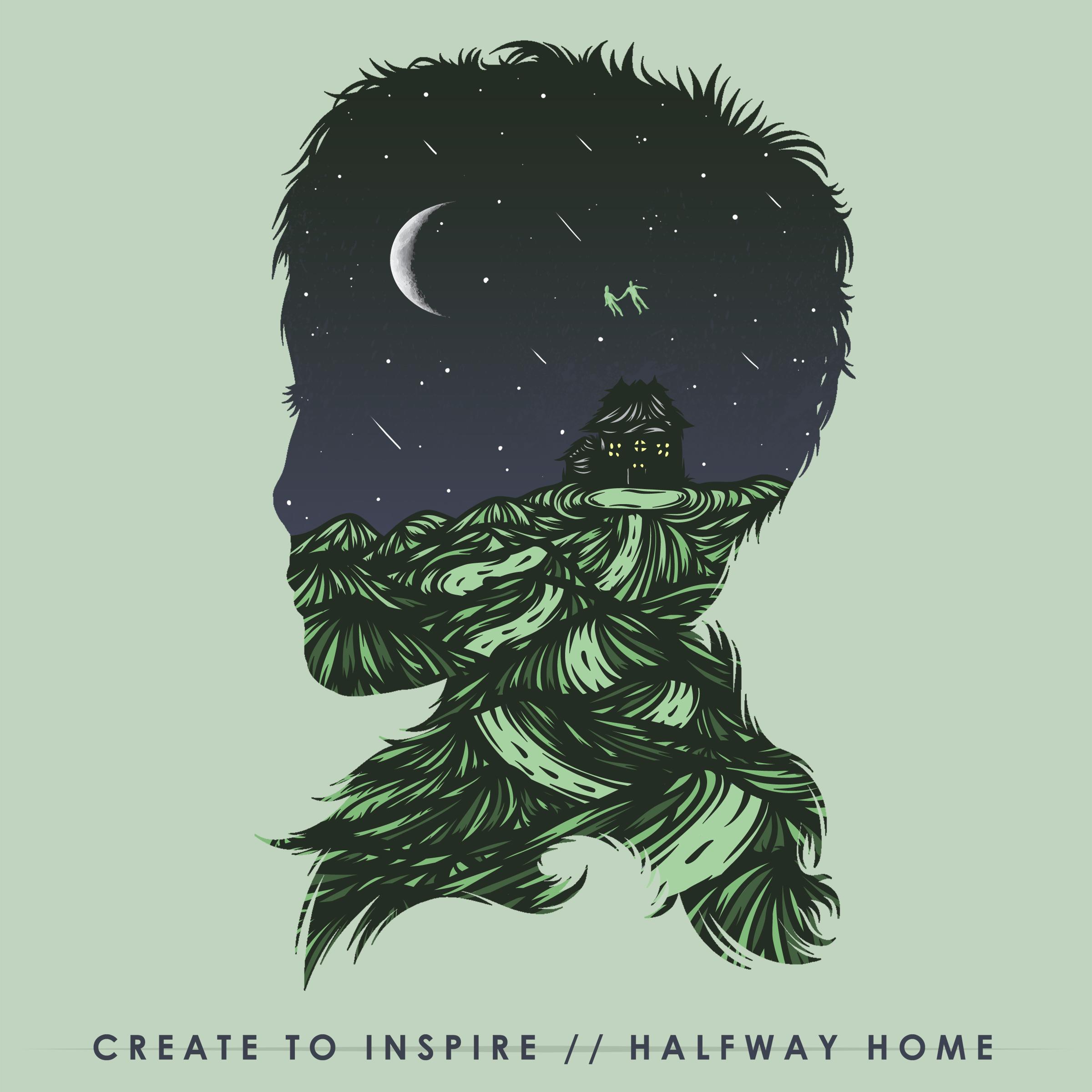 Dream Atlantic Records - CREATE TO INSPIRE 'HALFWAY HOME' CD