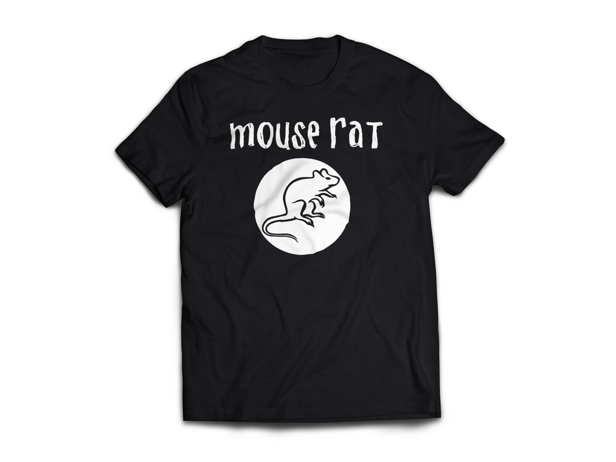 Mouse Rat t Shirt Mouse Rat is The Greatest Band