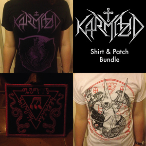Karmazid - Shirt & Patch Bundle