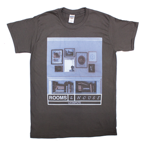 Rooms of the House - Charcoal T-Shirt
