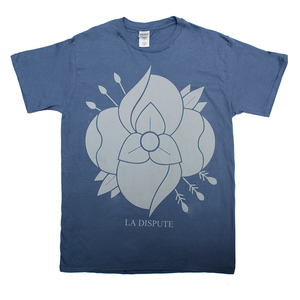Flower - Indigo Blue T-Shirt