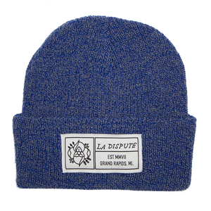 Patch Beanie - Heather Royal