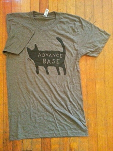 ADVANCE BASE- Black Cat Shirt