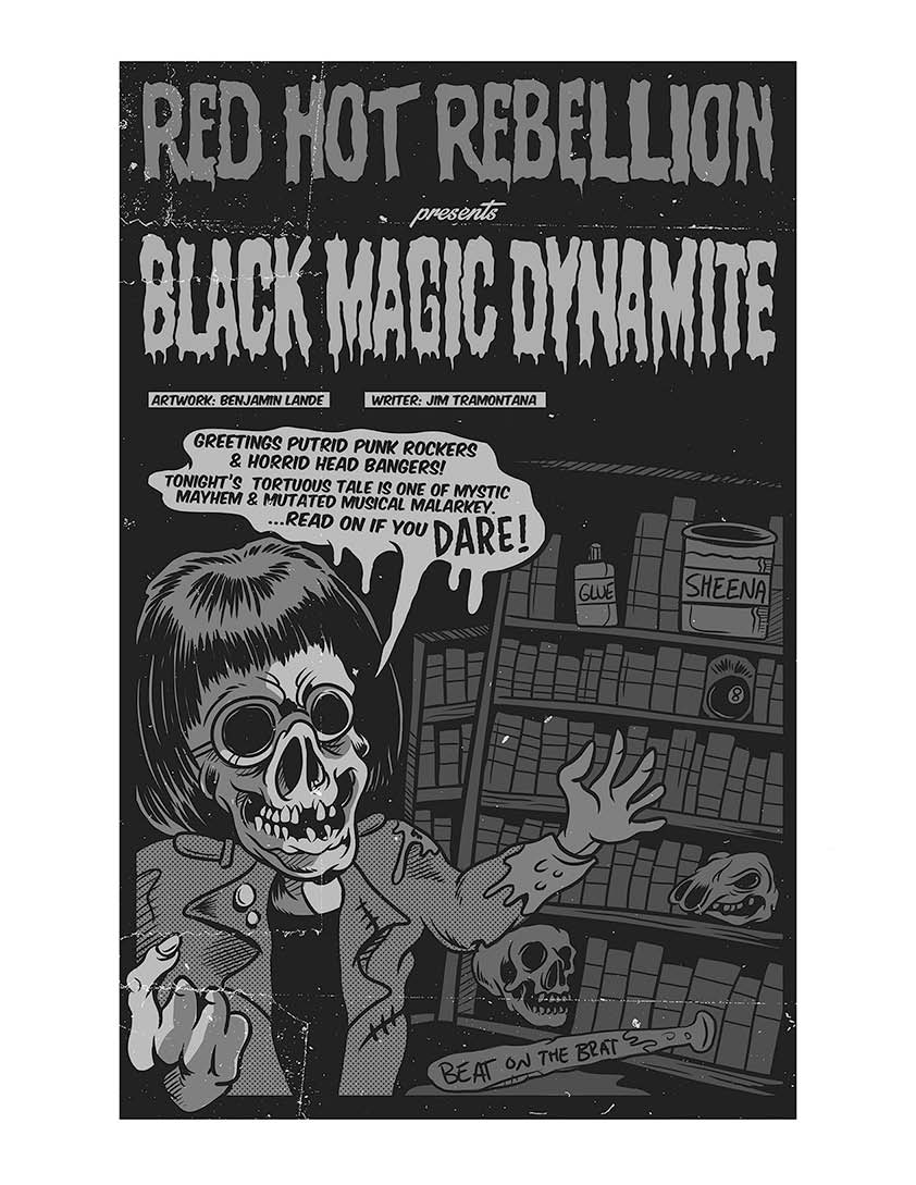 FREE Black Magic Dynamite Digital Comic and 4 Song Download! FREE