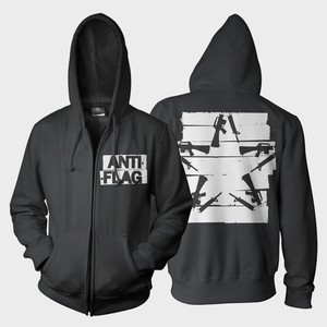 Anti-Flag - Duct Tape Gunstar Hoodie
