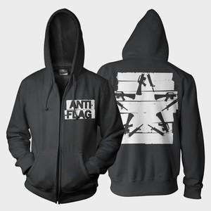 Anti-Flag - Duct Tape Gunstar Hoodie