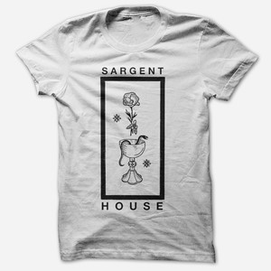 Sargent House - Wine, Snakes & Roses White T-Shirt
