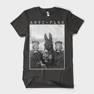 Anti-Flag - Donkey Gas Mask T-Shirt