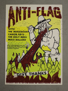 Anti-Flag - 11.26.2011 POSTER + MP3