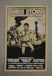 Chris Stowe - POSTER + MP3