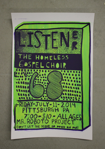 The Homeless Gospel Choir - POSTER + MP3
