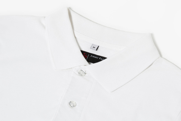 Jimmy Page Polo (White)