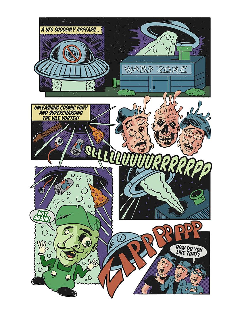 Black Magic Dynamite Comic Book