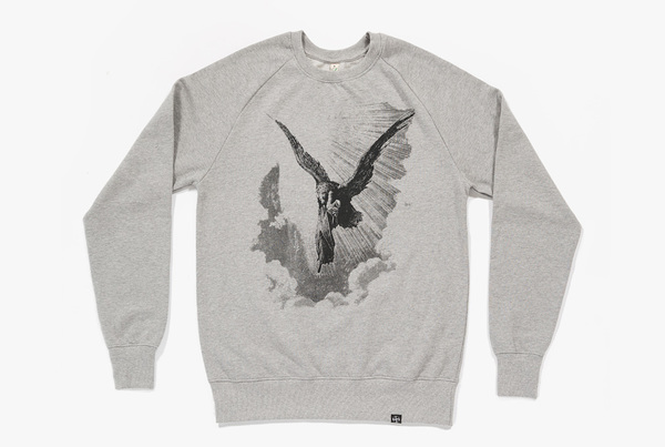 Lucifer Rising Sweatshirt (Grey)