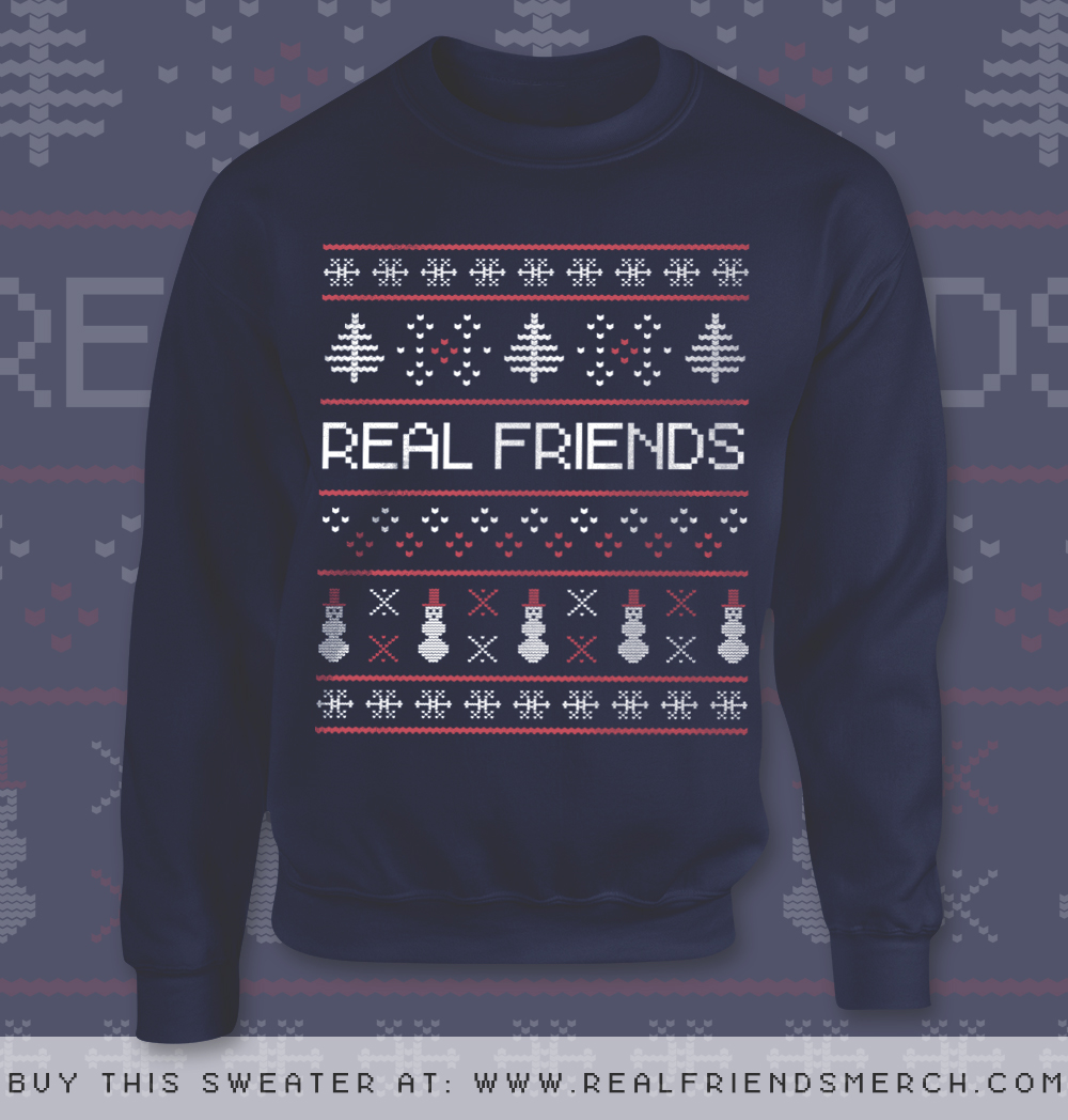 i picked up this real - Band Christmas Sweaters