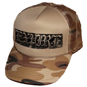 Expire Desert Camo Trucker Hat