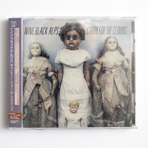 Nine Black Alps - Candy For The Clowns CD - Japanese Edition w/ 2 Japan Only Bonus Tracks SALE