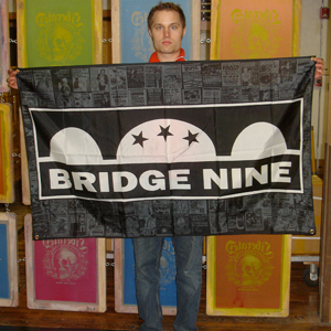 Bridge Nine 'Logo' Banner
