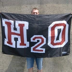 H2O 'Red & White Logo' Banner