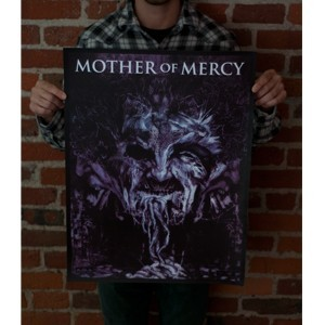 Mother Of Mercy 'Symptoms Of Existence' Screenprinted Poster