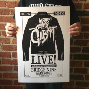 What's Eating Gilbert 'B9HQ Show' Screenprinted Poster