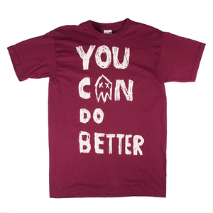 Johnny Foreigner - You Can Do Better T-Shirt