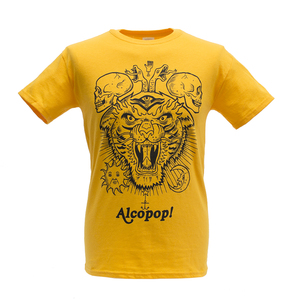 Alcopop! Megatiger Yellow T-Shirt